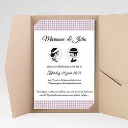 Aankondiging Huwelijk Lady and Gentleman