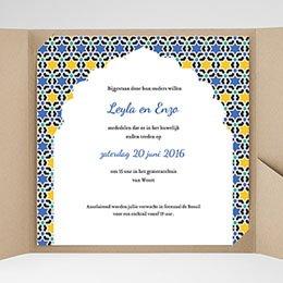 Aankondiging Huwelijk Casablanca