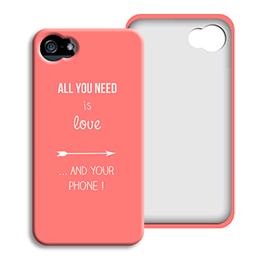 Smartphone case bedrukken - je t aime + que - 0