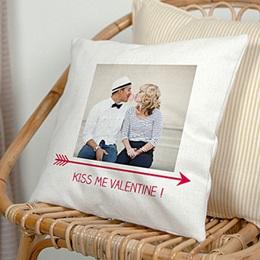 Gepersonaliseerde Fotokussen - Valentijns kussen - 0