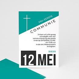Aankondiging Communie wallposter
