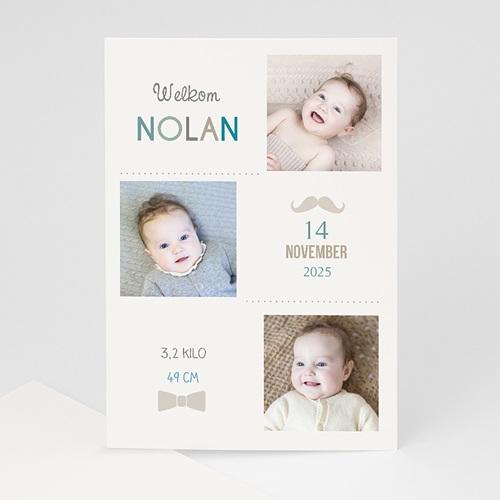Geboortekaartje jongen - love me tender 40637 thumb