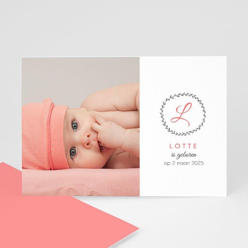 Geboortekaartje meisje - What's in a name 40648 thumb