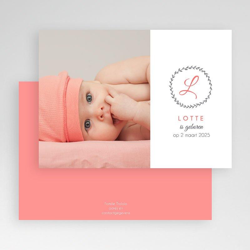 Geboortekaartje meisje - What's in a name 40650 thumb