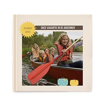 Fotoboeken Vierkant 20x20 cm - Een wereldalbum - 0