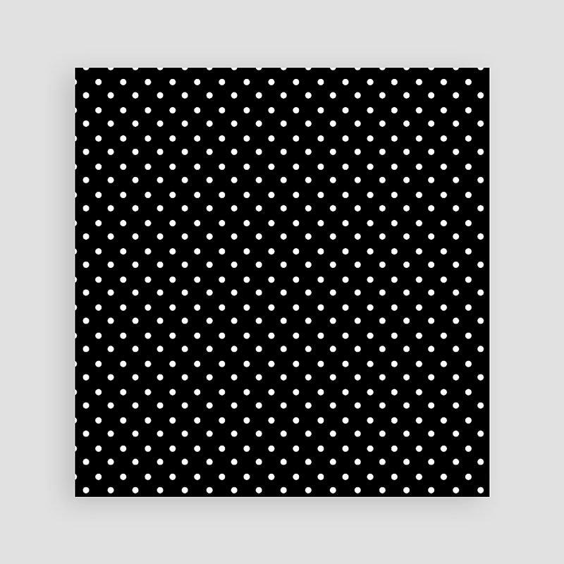 Trouwkaarten Zwart Wit - Confetti 1 40762 thumb