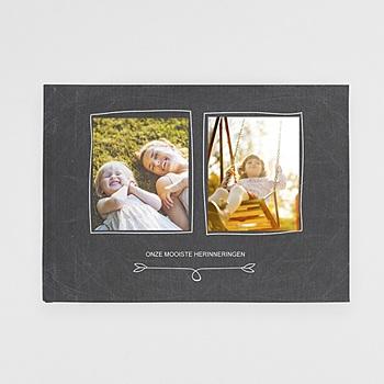 Panoramafotoboeken A4 Liggend Formaat - Album op leisteen - 0