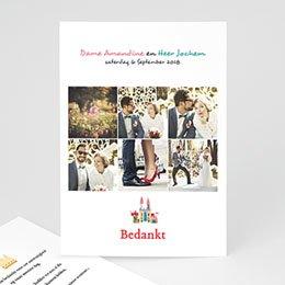 Bedankkaartjes huwelijk Marche Nuptiale