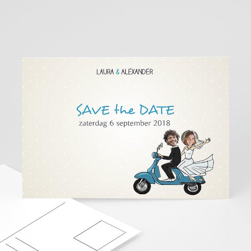 Save the date kaartjes - Vespa 41153 thumb
