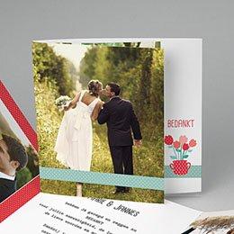 Bedankkaartjes huwelijk - een pot liefde - 0