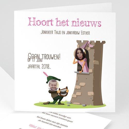 Humoristische trouwkaarten - Moyen Age 41171 thumb