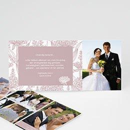 Bedankkaartjes huwelijk - Vintage feelings - 0