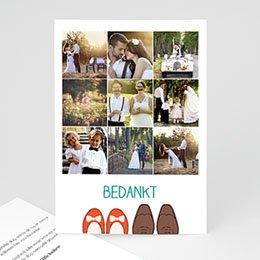 Bedankkaartjes huwelijk - Stap voor stap - 0