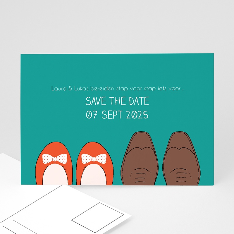 Save the date kaartjes - Stap voor stap 41480 thumb