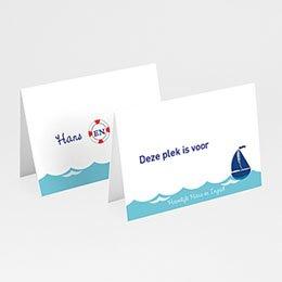 Personaliseerbare plaatskaartjes huwelijk Faire-part Marin