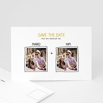 Save the date kaartjes - Handgemaakt - 0