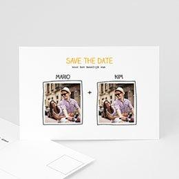 Save the date Huwelijk Handgemaakt