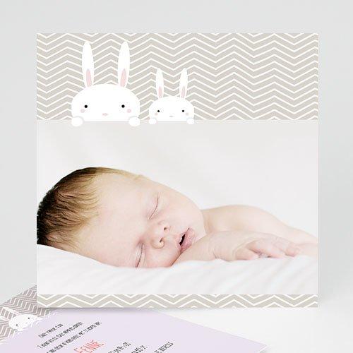 Geboortekaartje meisje - Knijntje 41636 thumb