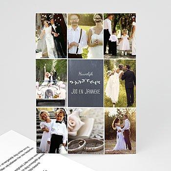 Bedankkaartjes huwelijk - Made in love - 0