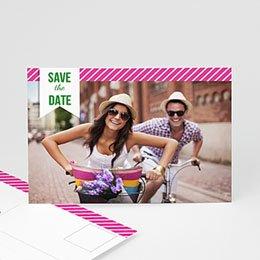 Save the date Huwelijk Poppie