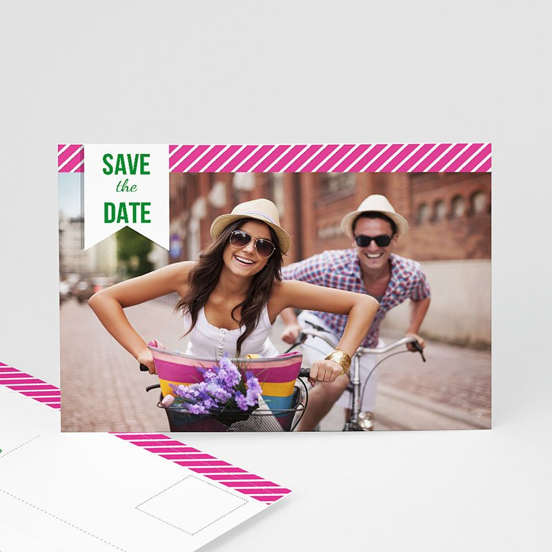 Save the date kaartjes - Poppie 41989 thumb