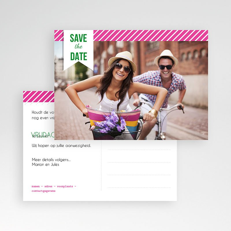 Save the date kaartjes - Poppie 41990 thumb