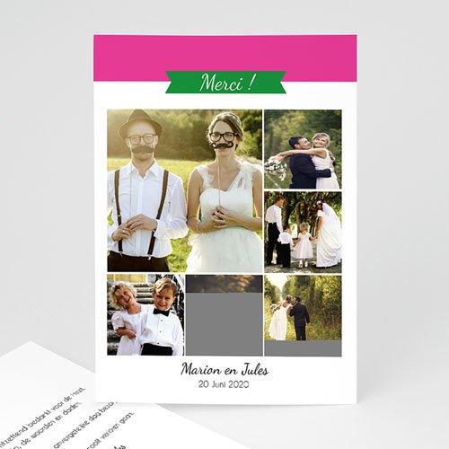 Bedankkaartjes huwelijk Poppie