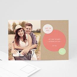 Save the date Huwelijk Bulles créatives
