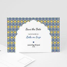 Save the date Huwelijk Casablanca