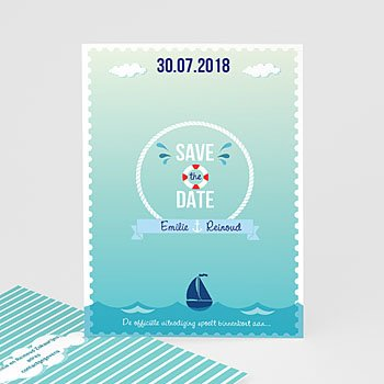 Save the date kaartjes - Spetters - 0