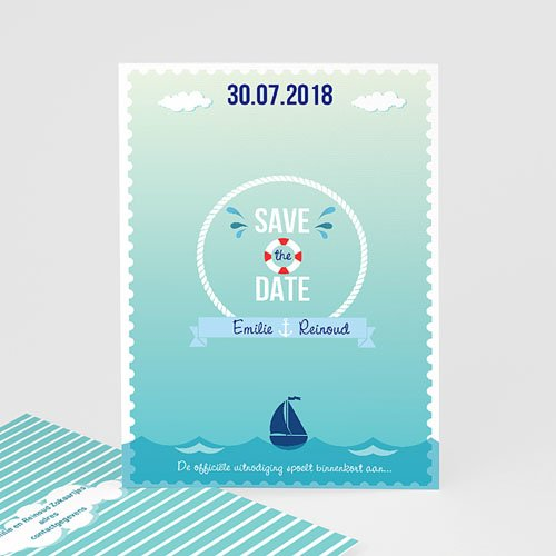 Save the date kaartjes - Spetters 42193 thumb