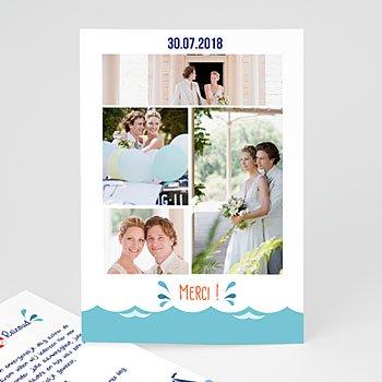Bedankkaartjes huwelijk - Spetters - 0
