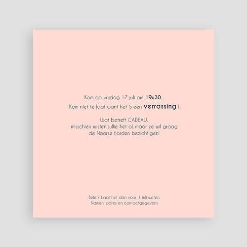 Meerderjarig Uitnodigingen Verjaardag roze leisteen pas cher