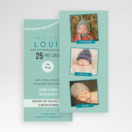 Geboortekaartje jongen - Fotoautomaat boy 42772 thumb