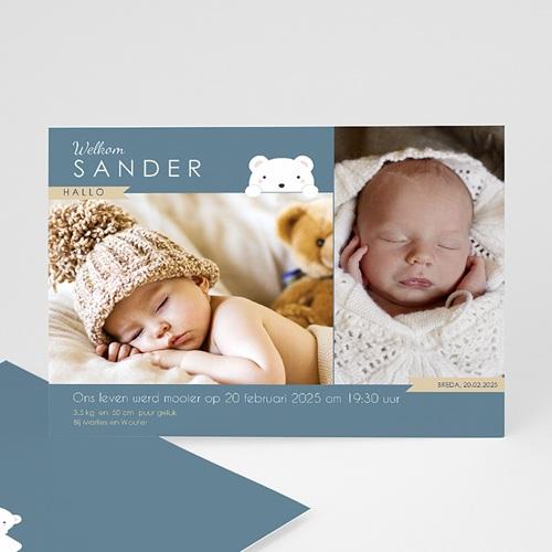 Geboortekaartje jongen - Beertje 42789 thumb