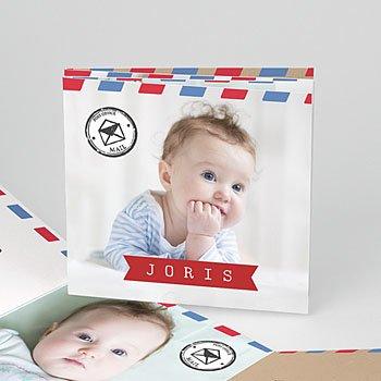 Geboortekaartje jongen - mooi reis - 0