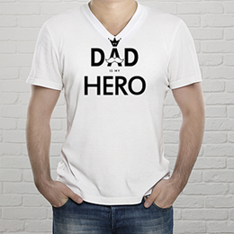 Gepersonaliseerd t-shirt - Superdad - 0