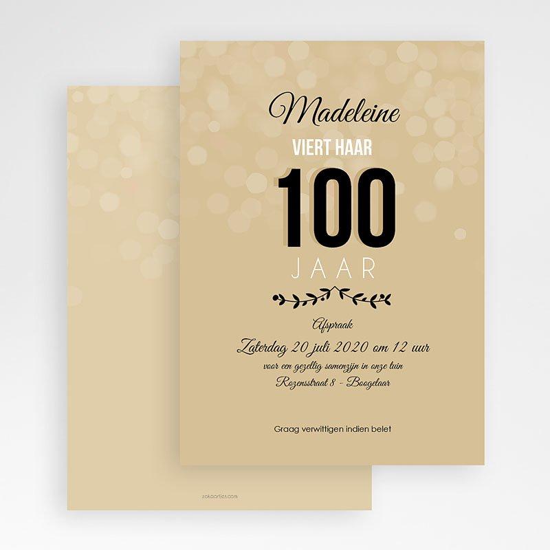 Meerderjarig Uitnodigingen Verjaardag 100 jaar! gratuit