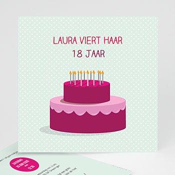 Verjaardagskaarten volwassenen - Stapeltaart - 0
