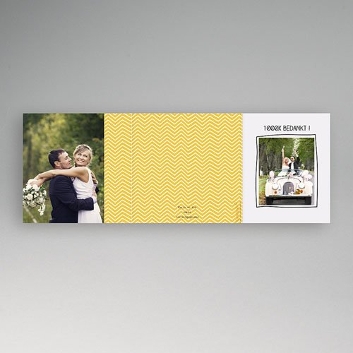 Bedankkaartjes huwelijk Handgemaakt gratuit