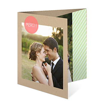 Bedankkaartjes huwelijk - Bulles créatives - 0