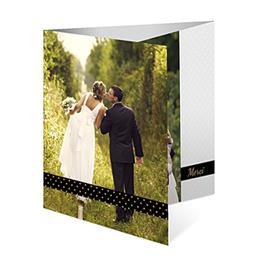 Bedankkaartjes huwelijk - Tandem - 0