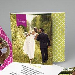 Bedankkaartjes huwelijk - Art deco kaart - 0