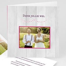 Bedankkaartjes Huwelijk Un beau jour