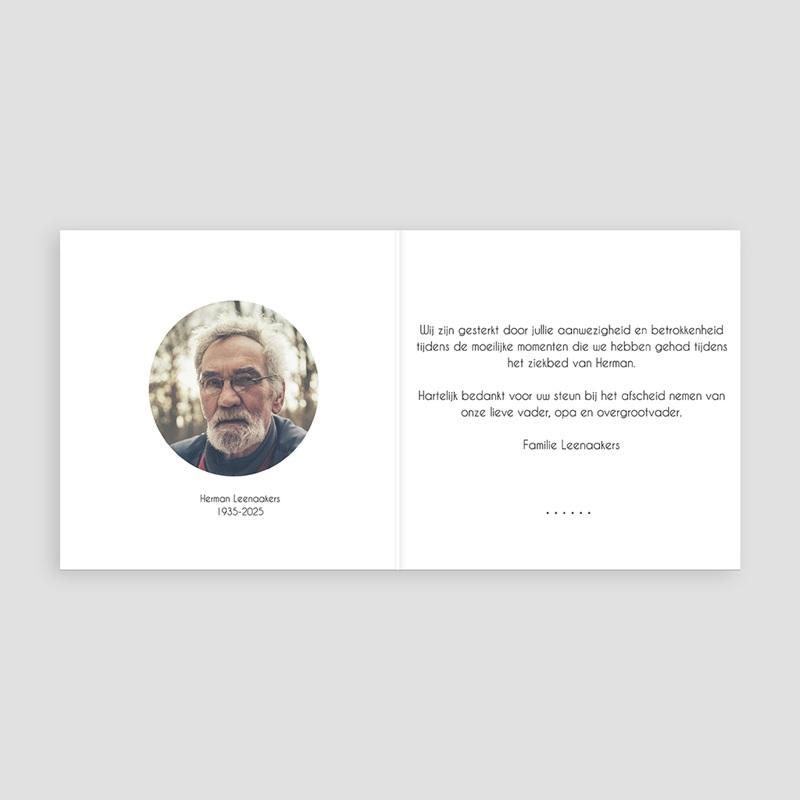 Universele rouwkaarten - Heengegaan 44069 thumb