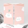 Geboortekaartje meisje - In de roze wolken 44485 thumb