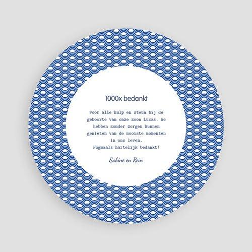 Bedankkaartje geboorte zoon - Walvisje 44562 preview