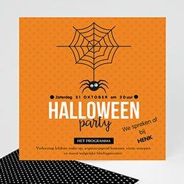 Uitnodiging Verjaardag kind Scary Halloween