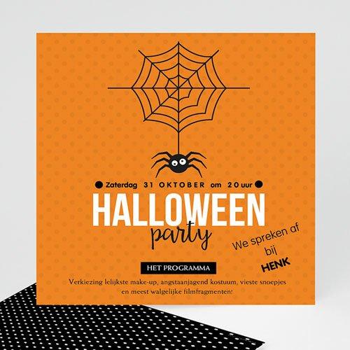 Uitnodigingen Verjaardag Jongen Scary Halloween