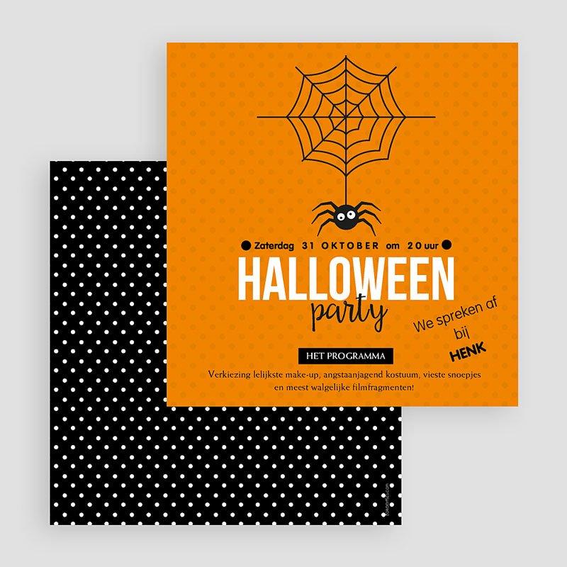 Uitnodigingen Verjaardag Jongen Scary Halloween gratuit